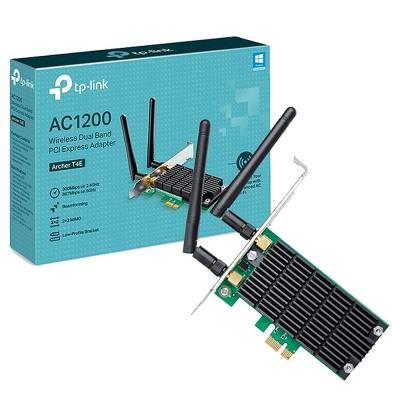 Placa Wifi Tp-link Archer T4e Ac1200 2x2 Mimo Pci-e