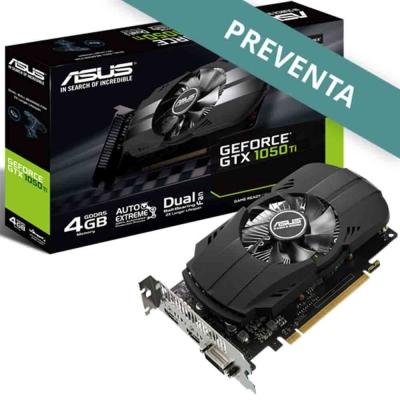 Placa De Video Geforce Gtx 1050ti 4gb Asus Phoenix