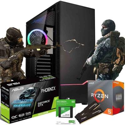 Pc Gamer Ryzen 5 3600 | Gtx 1660 Super 6gb | 16gb Ram | Ssd 480gb  | Fuente 650w 80 Plus