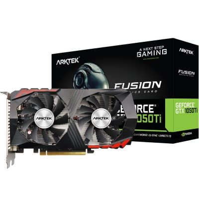 Placa De Video Geforce Gtx 1050ti 4gb Artek Dualfan