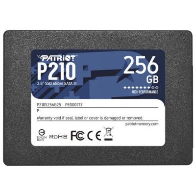 Disco Ssd Patriot P210 256gb Sata3