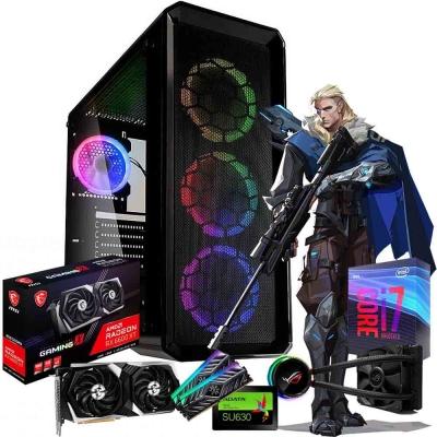 Pc Gamer Intel Core I7 9700k | Amd Radeon Rx 6600 Xt | 2x8gb Ram | Ssd 480gb  | Fuente 650w 80 Plus