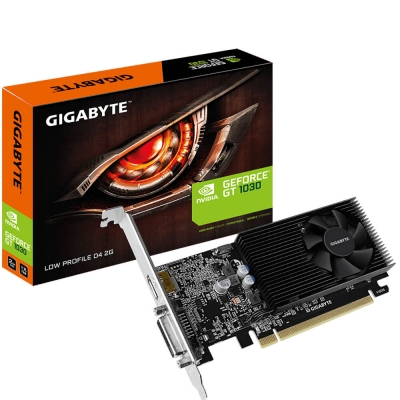 Placa De Video Geforce Gt 1030 Low Profile D4 2g