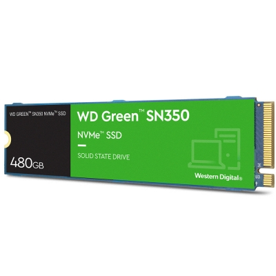 Ssd Wd Green Sn350 480gb M.2 Nvme