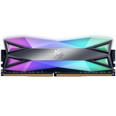 Memoria Ram A-data Titanio Ddr4 8gb 4133 Mhz Xpg Spectrix D60g Rgb