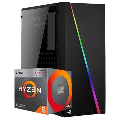 Pc Gamer Ryzen 5 3400g | GrÁficos Vega 11 | 8gb Ram | 1 Tb | Ssd 120gb | Fuente 500w 80 Plus