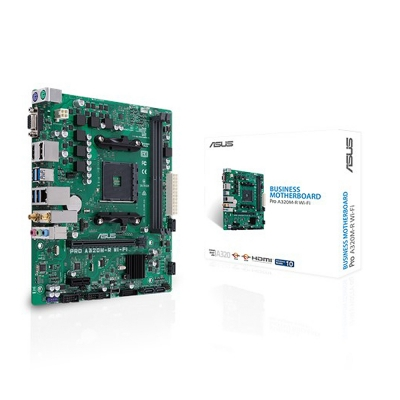 Mother Am4 Asus Pro A320m-r Wifi