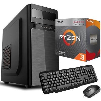 Pc Office Ryzen 3 3200g | GrÁficos Vega 8 | Ssd 240gb | 4gb Ram | Fuente 500w
