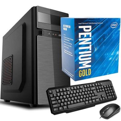 Pc Office Intel Pentium G5400 | Ssd 240gb | 4gb Ram | Fuente 500w