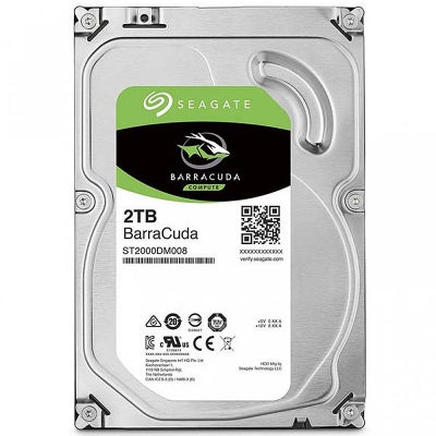 Disco Hdd 2tb Sata3 64m Seagate Barracuda