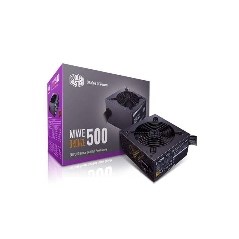 Fuente Cooler Master Mwe V2 500w 80 Plus Bronze