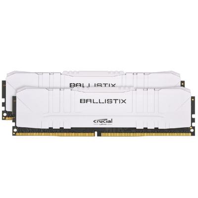 Memoria Ram Ballistix 2x8gb (16gb Kit) Ddr4 3200mhz White