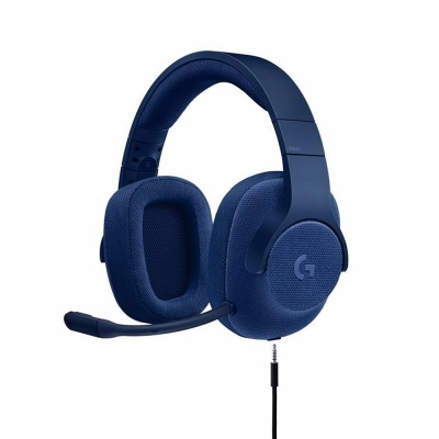Auriculares Logitech Gaming G433 Royal Blue Sonido Surround 7.1 Black