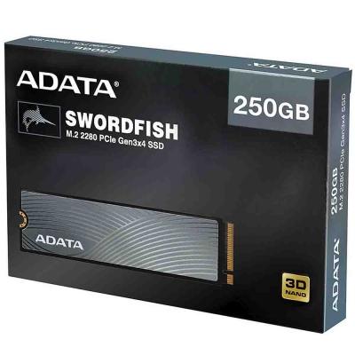 Ssd M.2 Nvme 250gb Adata Swordfish Pciegen 3x4