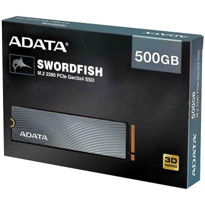 Ssd M.2 Nvme 500gb Adata Swordfish Pciegen 3x4