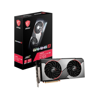 Placa De VÍdeo Msi Rx 5700 8gb Gaming X