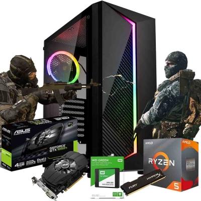 Pc Gamer Ryzen 5 3600 | Gtx 1050 Ti 4gb | 8gb Ram | Ssd 480gb  | Fuente 550w 80 Plus