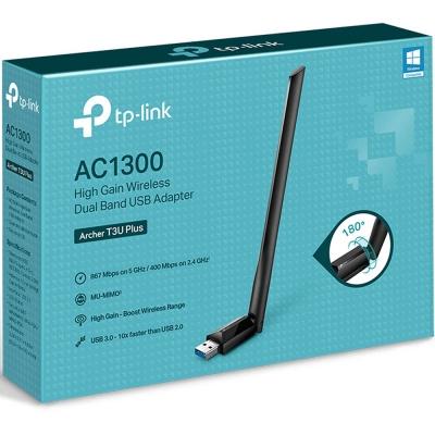 Placa Wifi Usb Tp-link Archer T3u Plus Ac1300