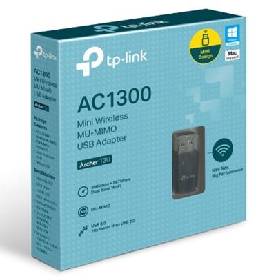 Placa Wifi Usb Tp-link K Archer T3u Mini Ac1300 3.0 Mimo