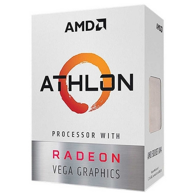 Procesador Amd Athlon 3000g Am4 3.5ghz Vega3