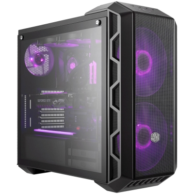 Gabinete Cooler Master Haf H500m Rgb Vidrio Templado 2xcooler 200mm