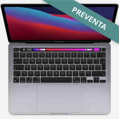 Apple Macbook Pro 13 Touch Bar | M1 | 256gb Ssd | 8gb Ram | 8 Nucleos Cpu + 8 Nucleos De Gpu