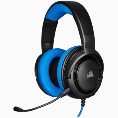 Auricular Corsair Gaming Hs35 Blue