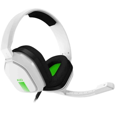 Auriculares Astro A10 White/green Pc Ps4 Xbox By Logitech