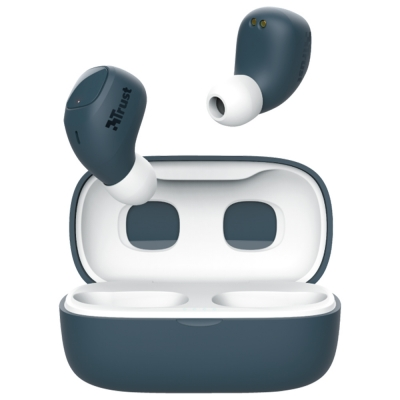 Auriculares Earphones Wireless Trust Nika Compact Touch Blue