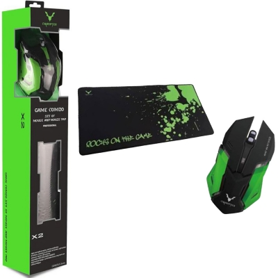Combo Wesdar X2 Mouse + Mousepad