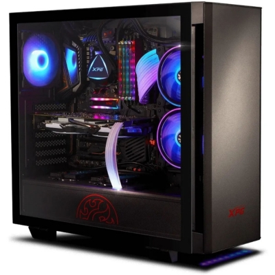Gabinete A-data Xpg Gaming Invader Black Glass Temp
