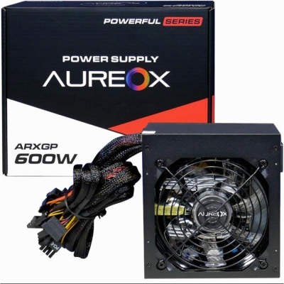 Fuente Aureox Power Supply Arxgp-600 600w