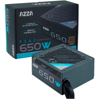 Fuente Azza 650w 80 Plus Bronze
