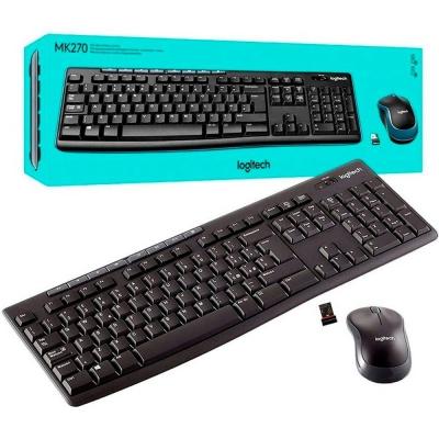 Teclado Y Mouse Wireless Mk270 Logitech