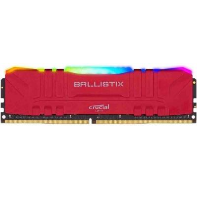 Memoria Ram Crucial Ballistix 8gb Ddr4 3200mhz Red Rgb