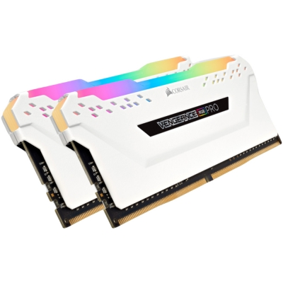 Memoria Ram Ddr4 Kit 16gb 3200mhz (2x8gb) Corsair Vengeance Rgb Pro White