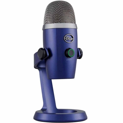 MicrÓfono Logitech Blue Yeti Nano Edition Vivid Blue