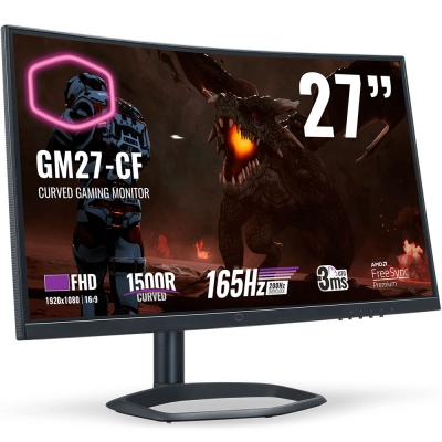 Monitor 27'' Cooler Master Gm27-cf Va  / 165hz / 1080p / Curvo