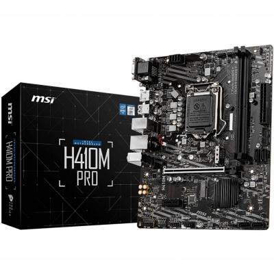 Mother 1200 Msi H410m Pro Box M-atx