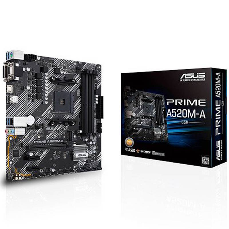Mother Am4 Asus Prime A520m-a (3ra Y 4ta Gen)