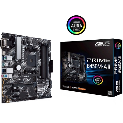 Mother Am4 Asus Prime B450m-a  Ii