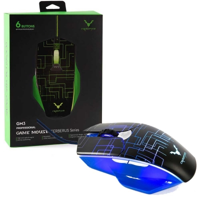 Mouse Gaming Wesdar Gm3 Black