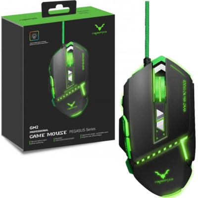 Mouse Gaming Wesdar Pegasus Series Gm2 Black