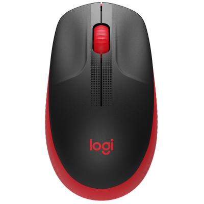 Mouse Logitech M190 Inalambrico Red