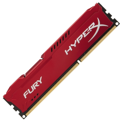 Memoria Ram Hyperx Fury Ddr3 4gb 1866mhz Red