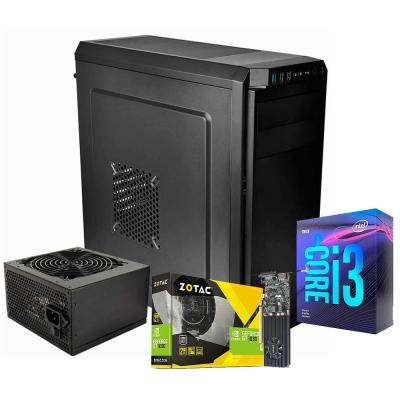 Pc Gamer Core I3 9100f | Gt 1030 2gb | 16gb Ram | 1 Tb | Ssd 120gb | Gabinete Tt V100 + Fuente 450w