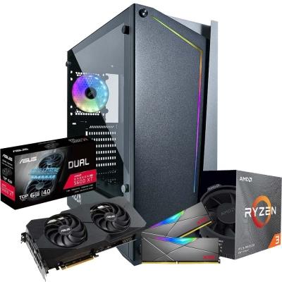 Pc Gamer Ryzen 3 3100 | Rx 5600xt 6gb | 16gb Ram | 1 Tb | Ssd 120gb | Fuente 600w 80 Plus