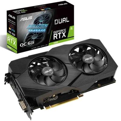 Placa De VÍdeo Asus Dual Rtx 2060 6gb Evo Gaming