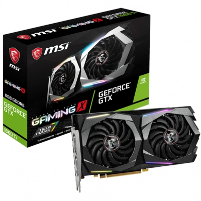 Placa De VÍdeo Geforce Gtx 1660 Ti 6gb - Msi Gaming X Twin Frozr (302-v375-10sb2010003703)
