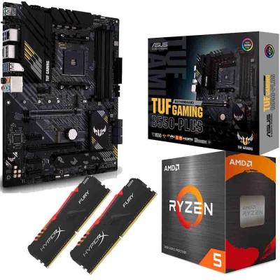 Combo Amd Ryzen 5 5600x + Mother B550m Asus Tuf + Ram 16gb (2x8gb) 3200 Mhz